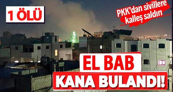 El Bab'a roketli saldırı: 1 ölü