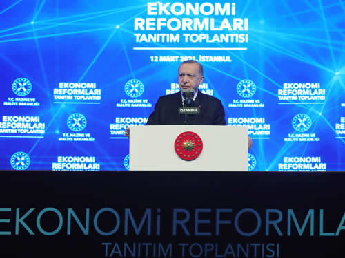 Cumhurbaşkanı Erdoğan Ekonomik reform paketini açıkladı