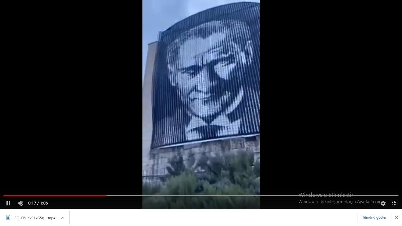 GAÜN'den beklenen açıklama geldi.Gaziantep Üniversitesi'nden Atatürk panosu açıklaması