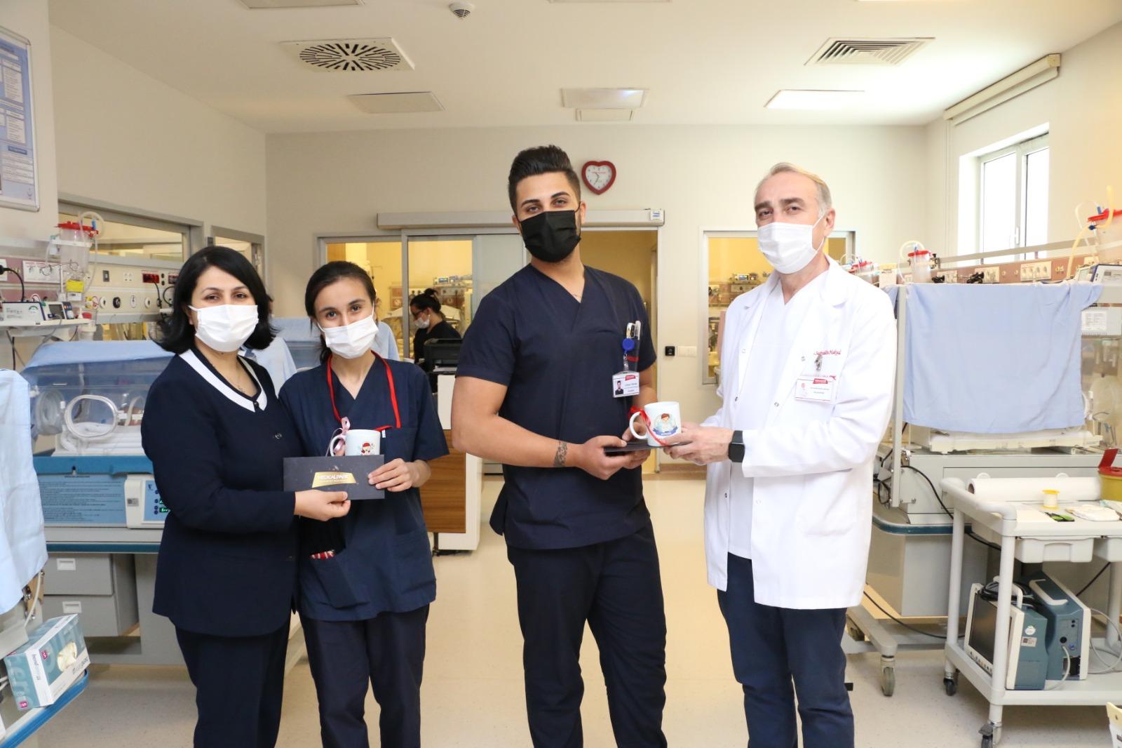 Medical Park Gaziantep'te Hemşireler Günü Kutlandı