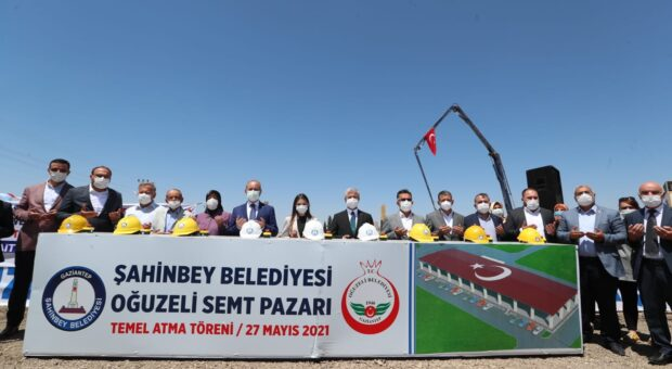 ŞAHİNBEY BELEDİYESİ'NDEN BİR PAZAR YERİ DE OĞUZELİ'NE