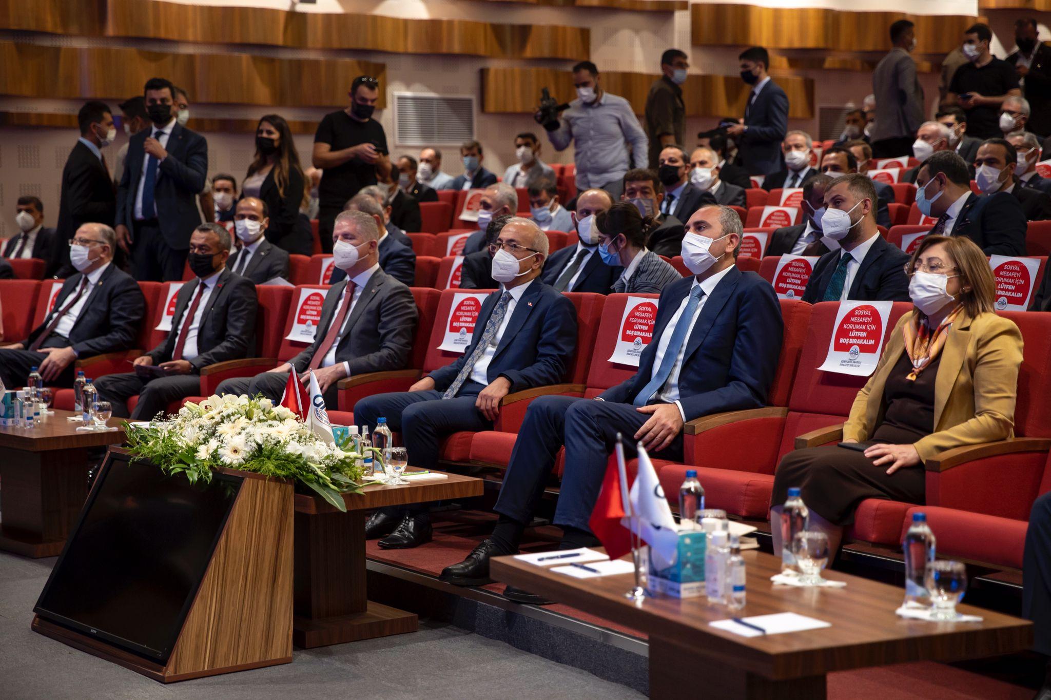 Hazine ve Maliye Bakanı Lütfi Elvan ve Adalet Bakanı Abdulhamit Gül GAİB de