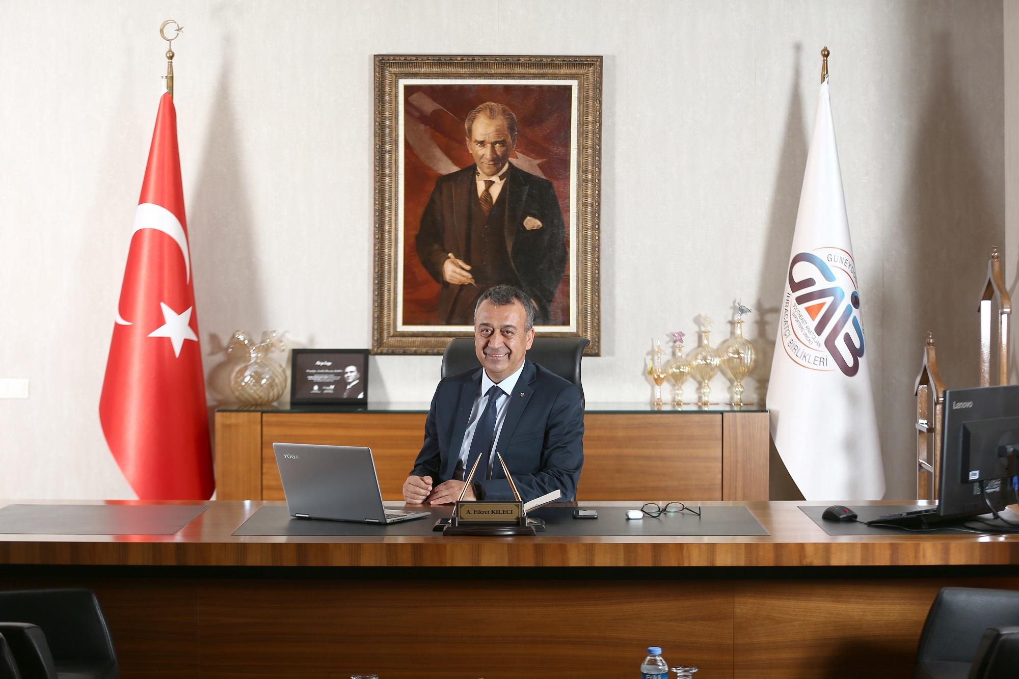 Gaziantep'ten Tüm Zamanların En Yüksek Aylık İhracatı Gerçekleşti