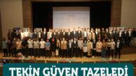 Türkiye Gençlik Vakfı (TÜGVA) Gaziantep İl Temsilciliğine Mahmud Tekin yeniden seçildi.