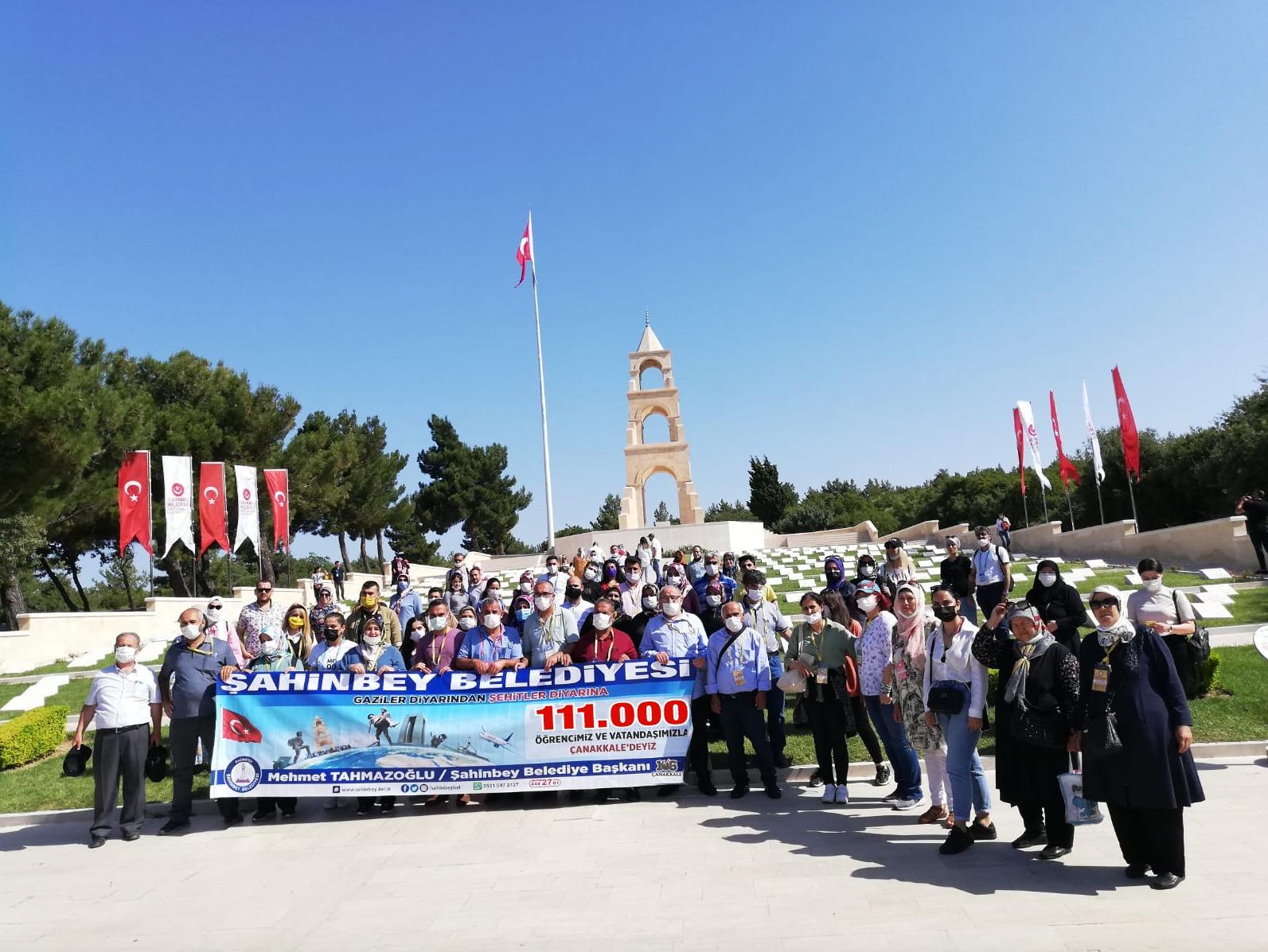 ŞAHİNBEY 111.000 GAZİ TORUNUNU ECDADIYLA BULUŞTURUYOR