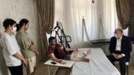Milletvekili Koçer'den Gazi Polisimize Ziyaret