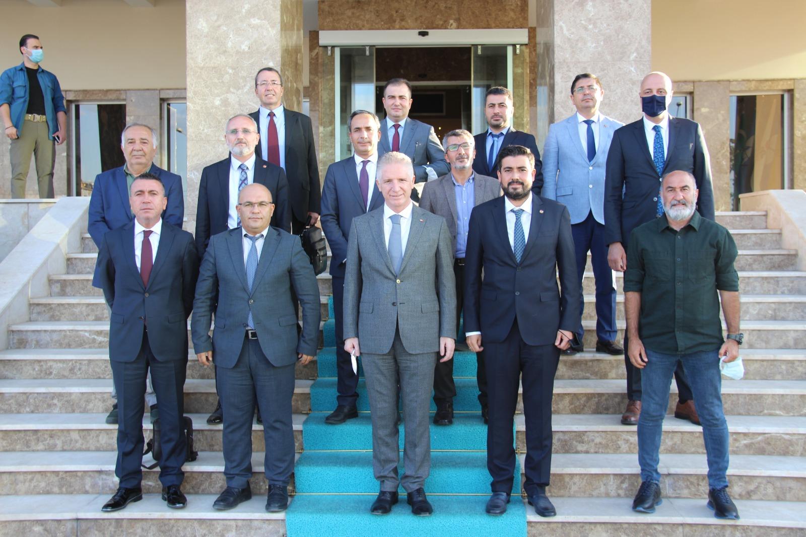 GGC yönetiminden Vali Gül'e ziyaret